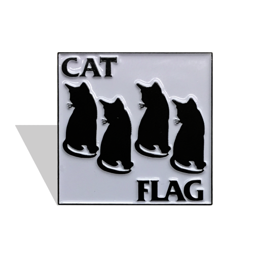 Image of CAT FLAG PIN