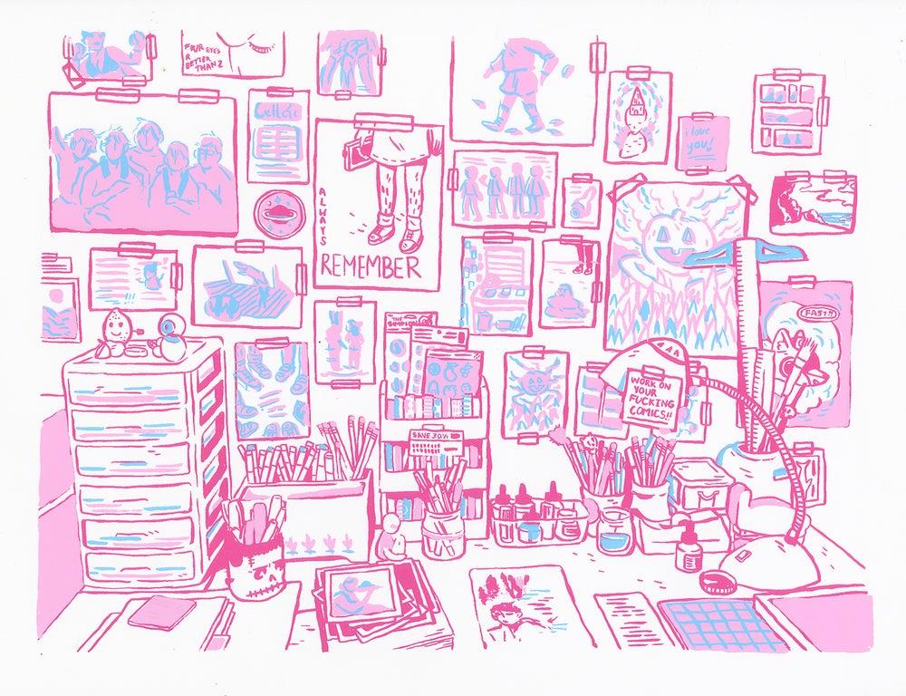 Image of Workspace Screenprint