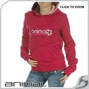 Image of Animal-Jude hoodie sangria
