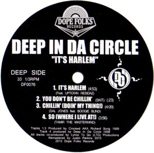"Image of DEEP IN DA CIRCLE ""IT'S HARLEM"" EP"