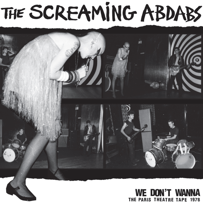 Image of The Screaming Abdabs / City Ram Waddy LP (WBRX-2603) pink vinyl