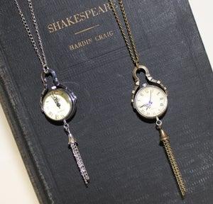 Image of 'Lil Farm Designs~ Pocket Watch Necklace