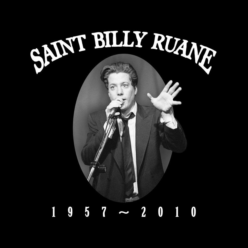 """Image of """"Saint Billy Ruane"""" WOMEN'S shirt (Black)"""