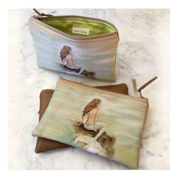 Image of Mermaid 7 Zip Clutch
