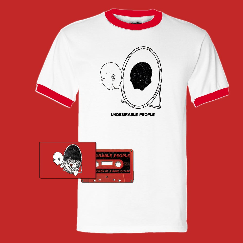 Image of Undesirable People - Eternal Vision Of A Blind Future CS + Shirt Bundle