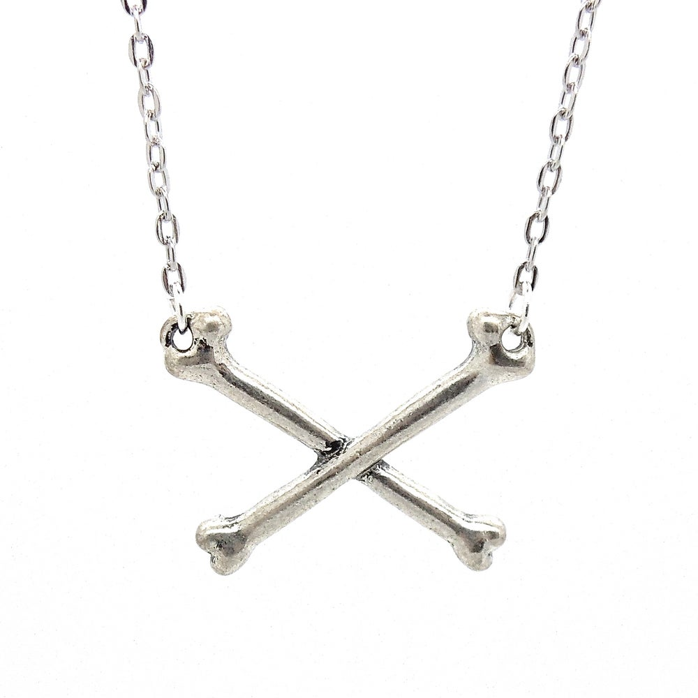 Image of Crossbones Necklace