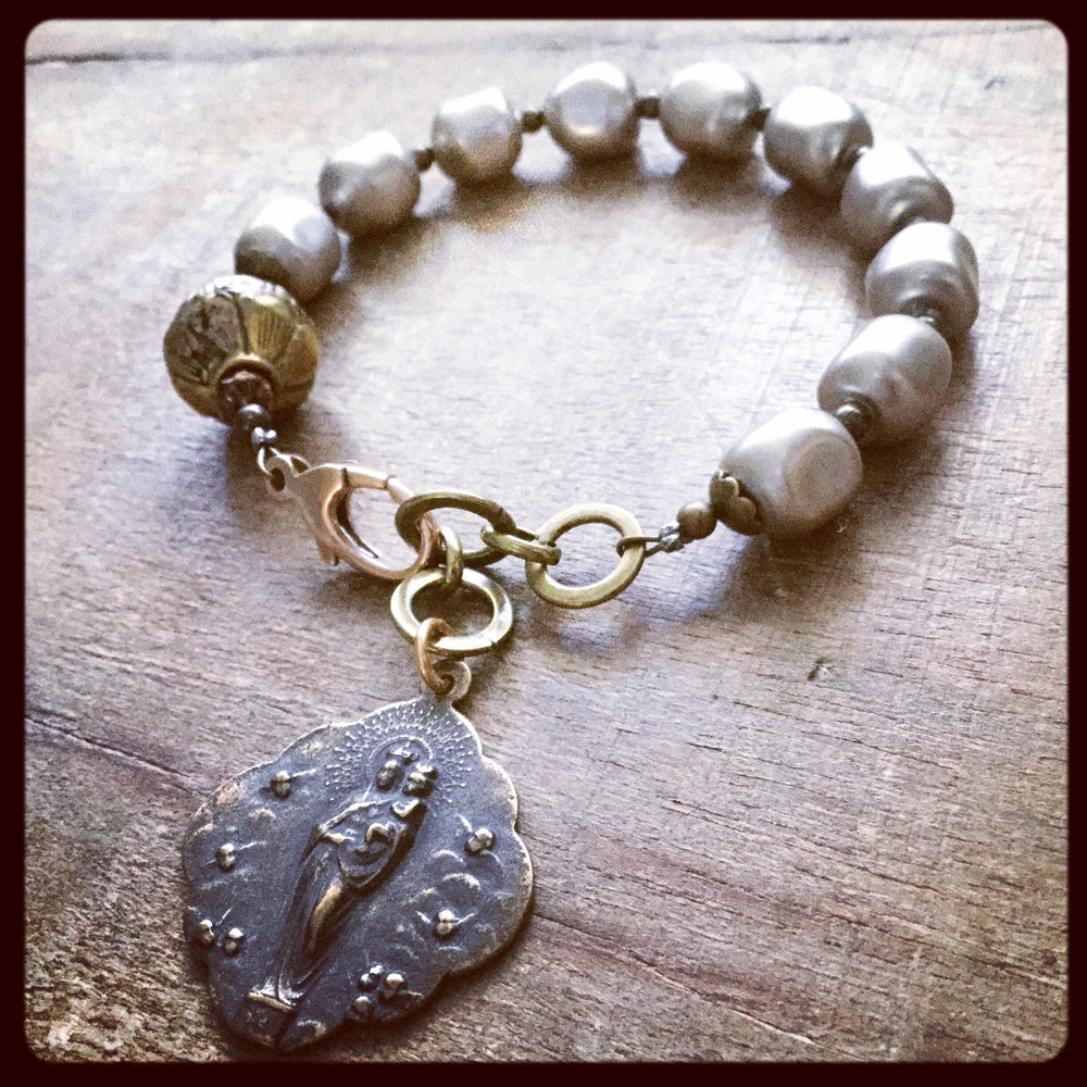 Image of BLESSED MOTHER MARY BRACELET
