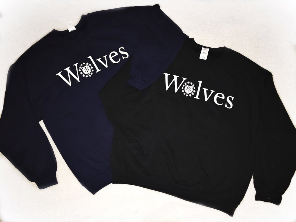 Image of Wolves Crewneck