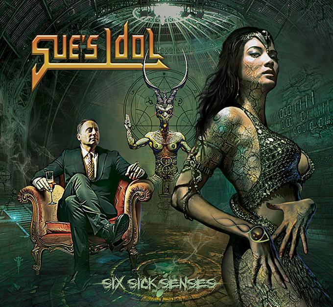 "Image of Sue's Idol ""Six Sick Senses""  2016"