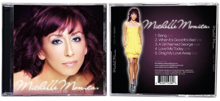 Image of Michelle Monica - Love Me Today album