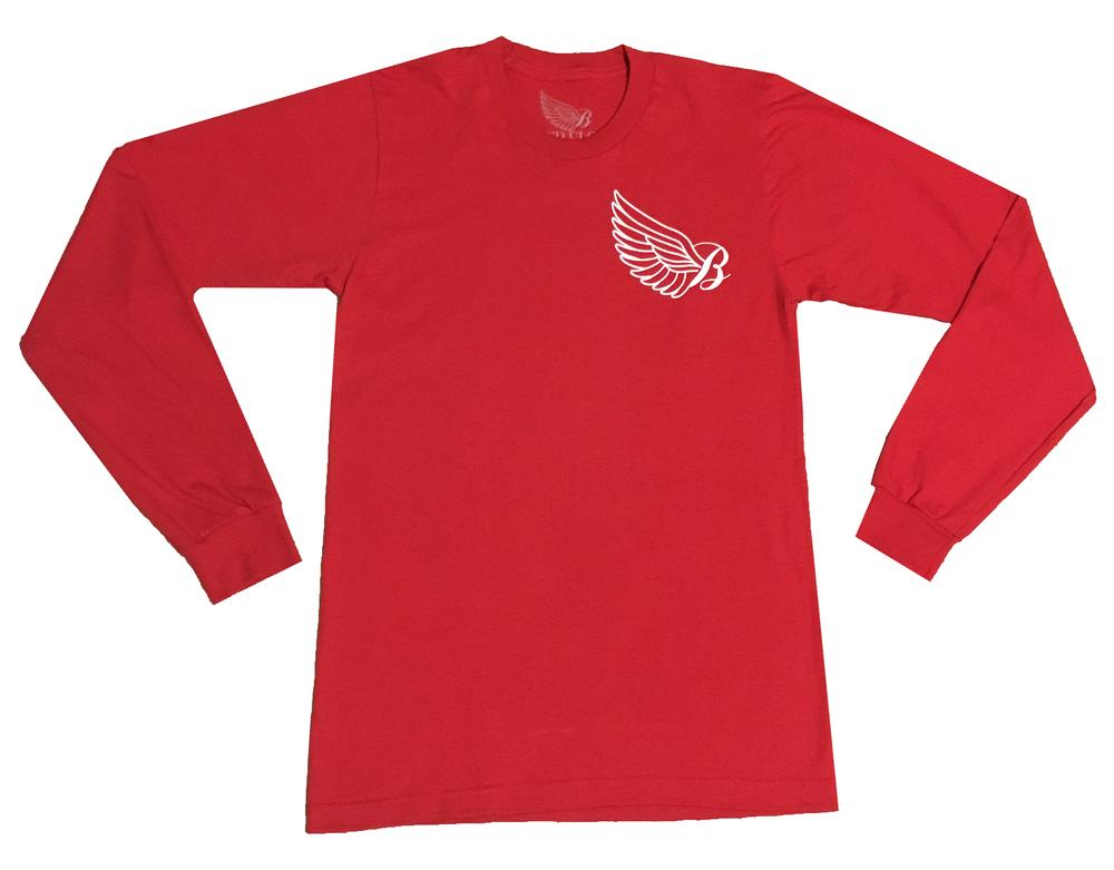 Image of Red Original Long Sleeve
