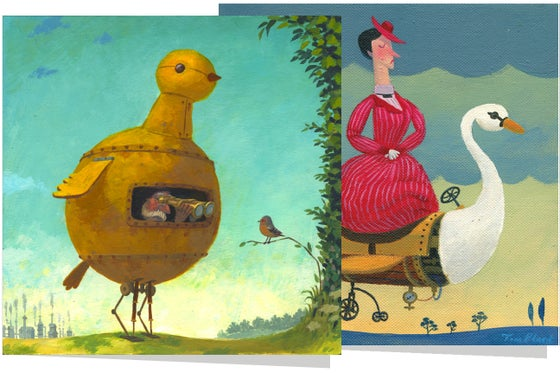 Image of 6 x greetings cards
