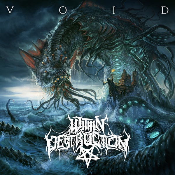 Image of WITHIN DESTRUCTION - Void CD OUT NOW!!!