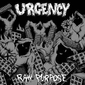 "Image of URGENCY 'Raw Purpose' 7"" EP"