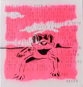 Image of Original Artwork - 'The Gecko' (by Churchy)