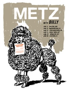 Image of METZ 2016 Tour Poster