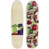 "Image of Shipyard Skates ""Lickable Wallpaper"" deck"
