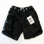 Image of <b>Fake-fur Shorts black</b> <br> - <b>Zl by Zlism</b>