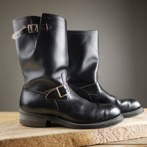 Image of VINTAGE HYTEST ENGINEER BOOTS USA
