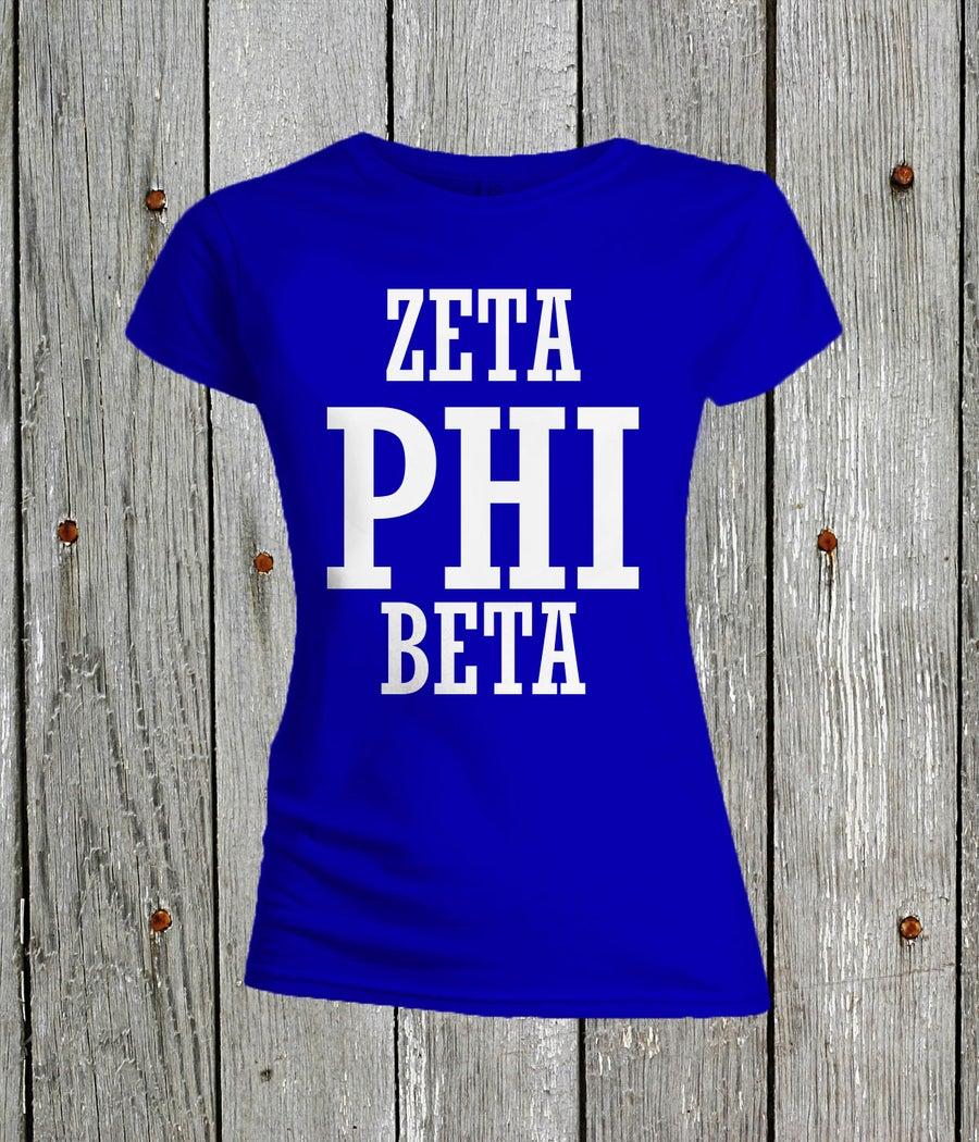 Image of Zeta Phi Beta Tee