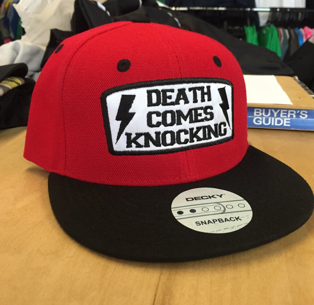 Image of Death Comes Knocking SnapBacks