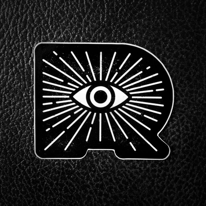 Image of Ryclops Black Sticker
