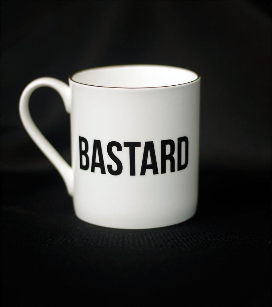 Image of THE GOLD RIMMED BASTARD MUG