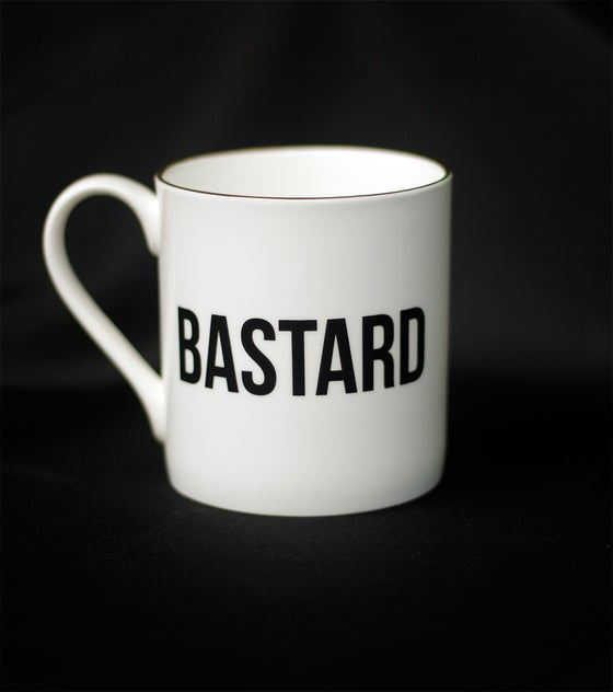 Image of THE GOLD RIMMED BASTARD MUG