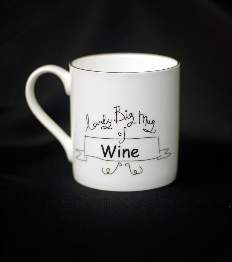 Image of LOVELY BIG MUG OF WINE