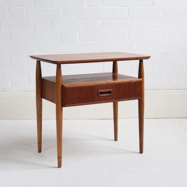 Image of Midcentury bedside table by Gunni Omann