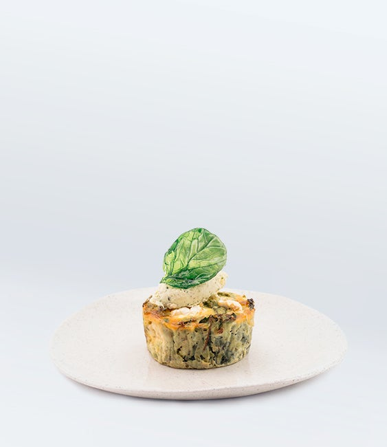 Image of Mushroom, Lemon & Potato Frittata (V)<br>(Flourless)(More Sizes Available)