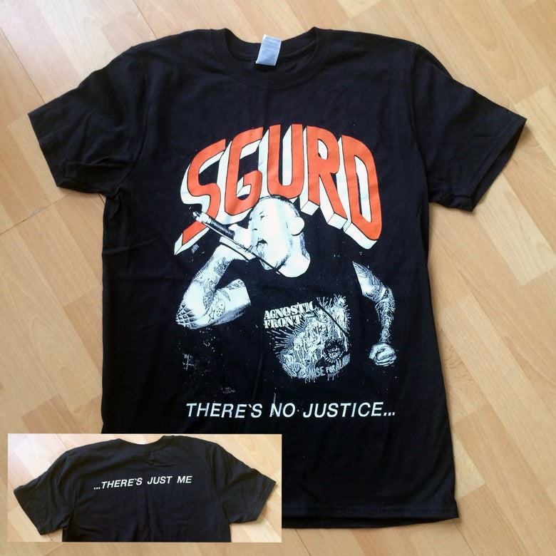 "Image of ""There's No Justice"" T-shirt"