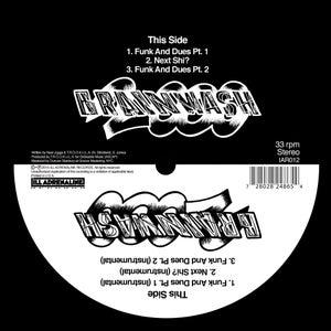 "Image of Brainwash 2000 12"" (black vinyl, limited edition of 150 copies)"