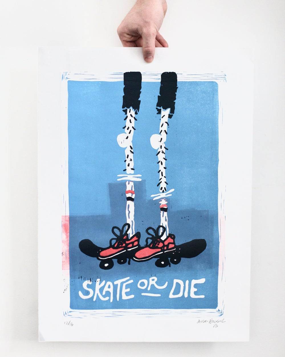 Image of Skate or Die Print