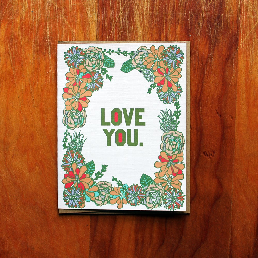 Image of love you.