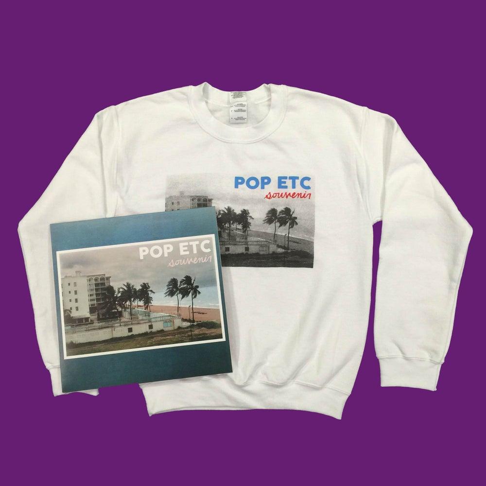 Image of NEW ALBUM 'SOUVENIR' BUNDLE-Sweatshirt & Vinyl