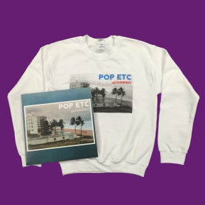 Image of NEW ALBUM 'SOUVENIR' BUNDLE-Sweatshirt & Vinyl