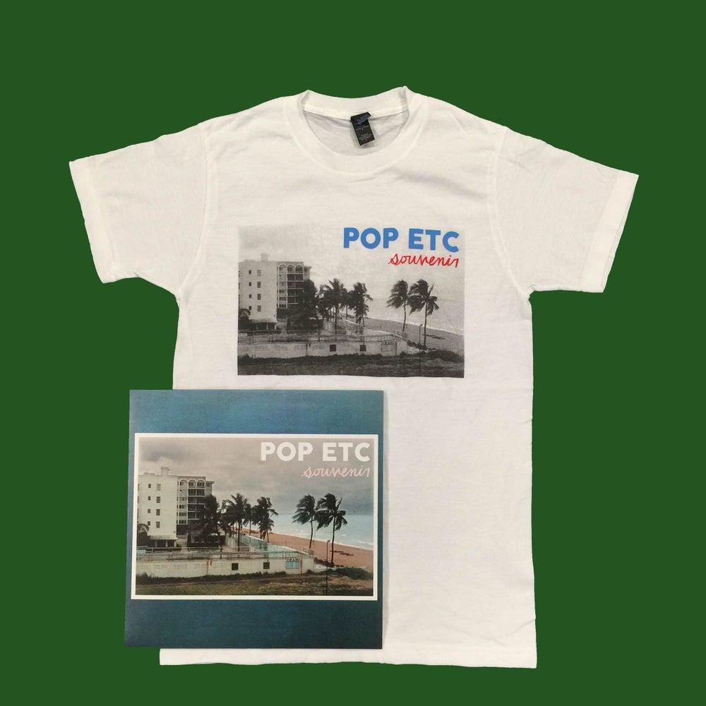 """Image of NEW ALBUM """"SOUVENIR"""" BUNDLE-T Shirt & Vinyl"""