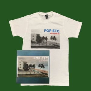 Image of NEW ALBUM 'SOUVENIR' BUNDLE-T Shirt & Vinyl