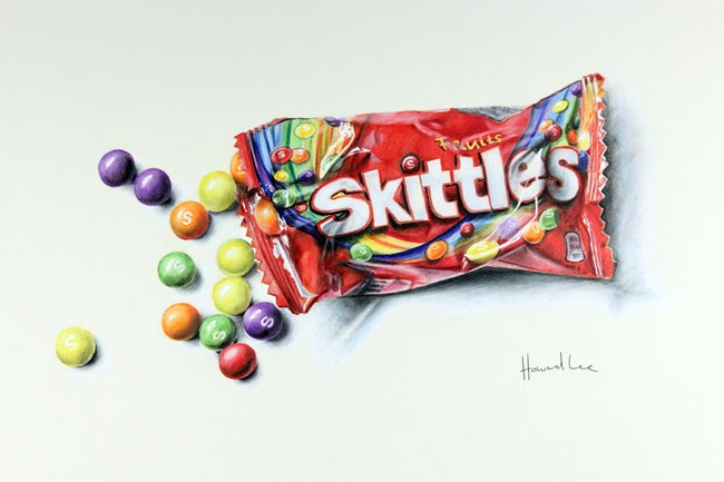 Image of Open Skittles Signed Print