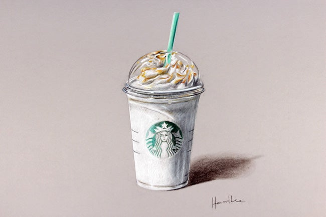 Image of Frappuccino Signed Print