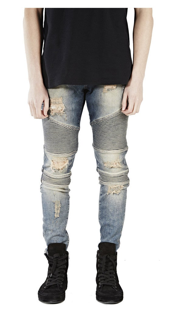 Image of DISTRESSED DENIM