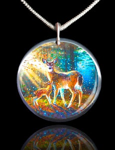 Image of Deer Spirit Energy Pendant