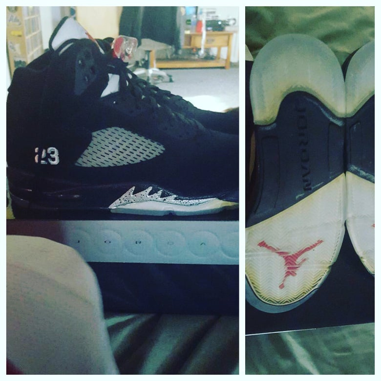 Image of Jordan Retro 5 - Metallic