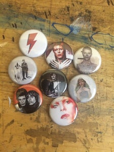 Image of Bowie Button Set