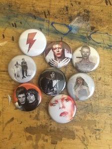 Image of Bowie Button Set