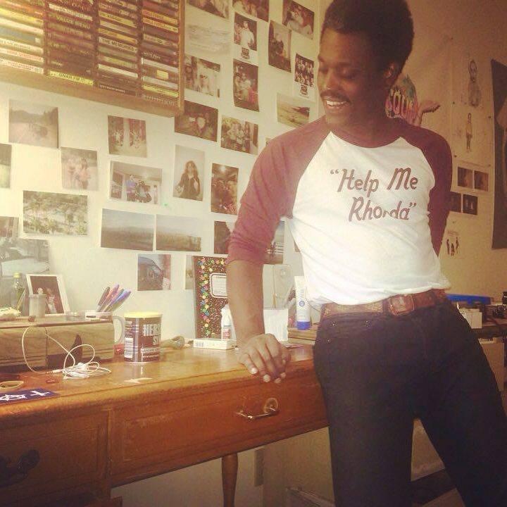 "Image of ""Help Me Rhonda"" Raglan Baseball Shirt"