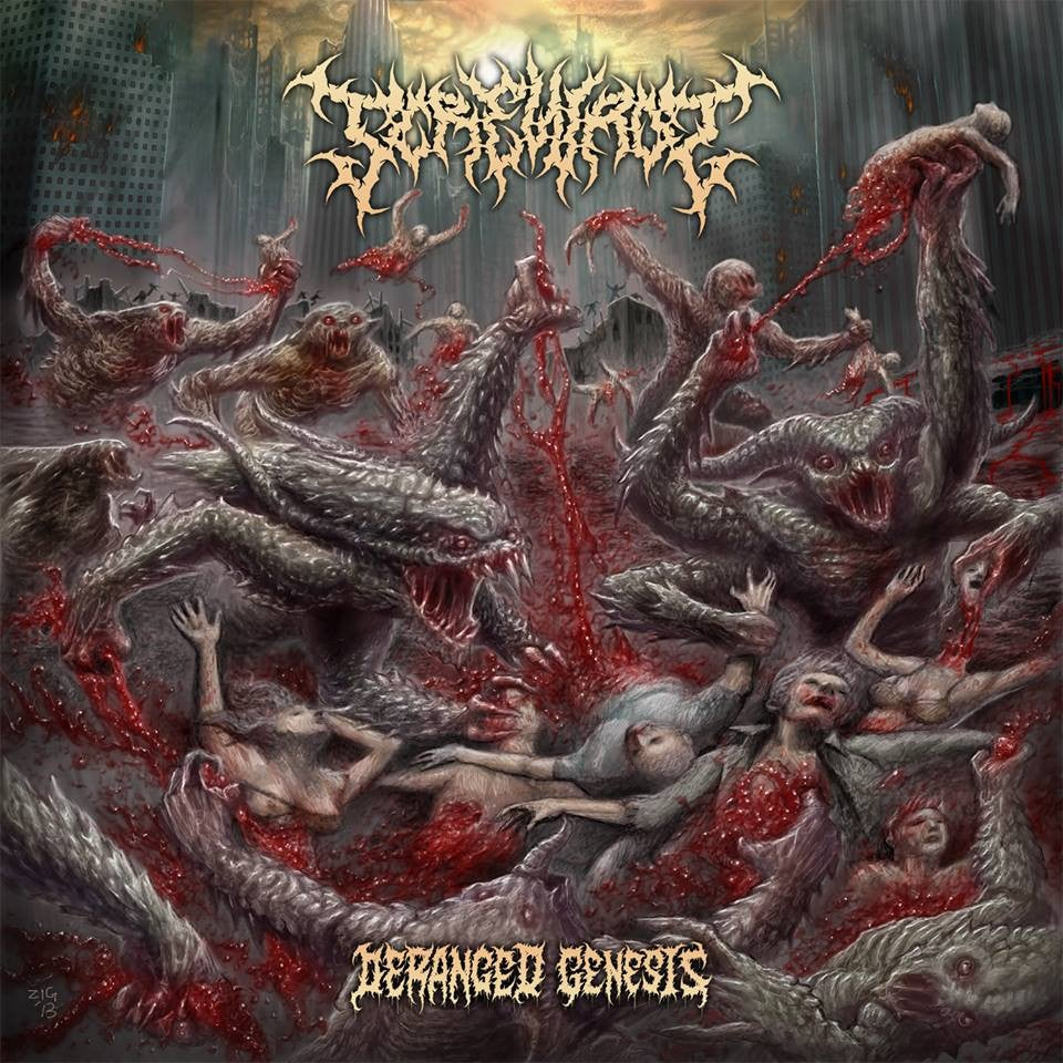 Image of Screwrot - Deranged Genesis