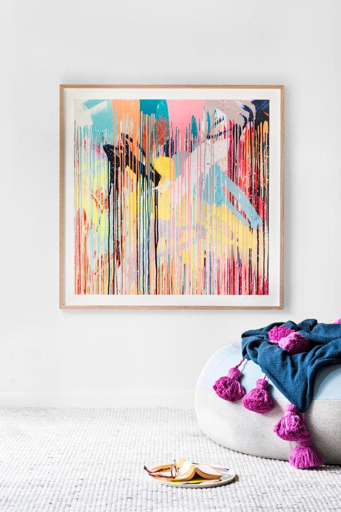 Image of Colour Bomb Print