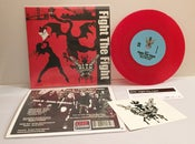 "Image of BITE ""Fight The Fight"" - 45 RED Vinyl (includes FREE download card)"